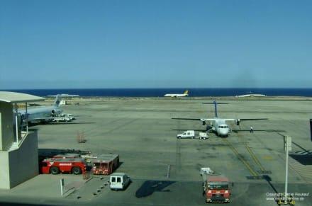 Blick aus dem Flughafen Fuerteventura - Flughafen Fuerteventura (FUE)