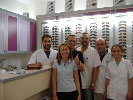 X Optik X Team und ich mit neuer Brille - X OPTIK X EVRENSEKİ