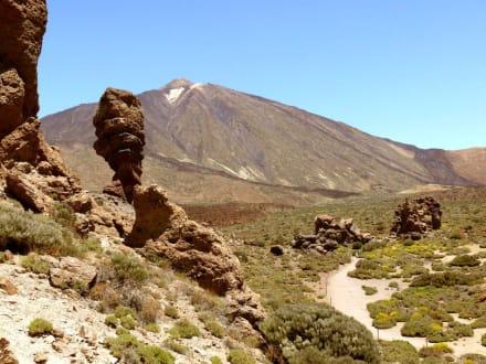 Las Canadas mit Pico del Teide - Teide Nationalpark