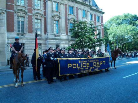 Gruppenfoto - Steuben Parade New York