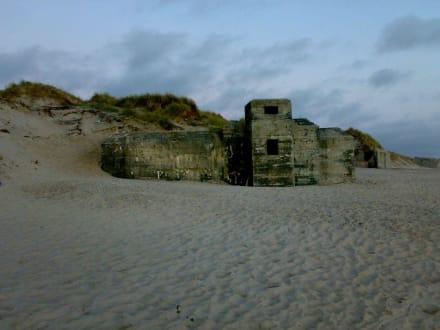 Bunkeranlagen - Festungsanlage Sondervig