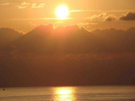 Sonnenuntergang - Strand Hammamet