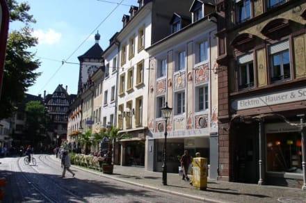 Oberlinden - Fußgängerzone Freiburg