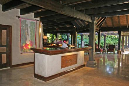 Rezeption - Hotel Pacific Resort Aitutaki