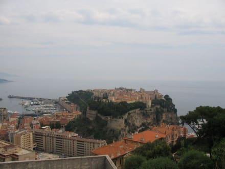 Monaco Blick auf Fürstenpalast - Fürstenpalast