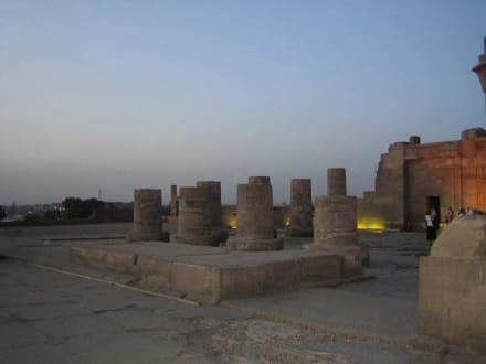 Der Tempel von Kom Ombo. - Doppeltempel Kom Ombo