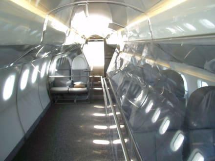 Innenraum der Concorde - Auto & Technik Museum
