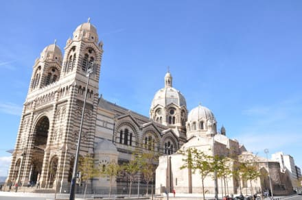 Religious sites (churches, temples, etc.) - Sainte-Marie-Majeure de Marseille Cathedral