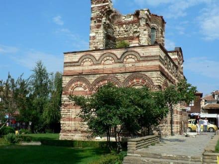 Das ursprüngliche Nessebar - Kirche Christus Pantokrator
