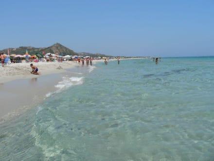 Strand von Berchida - Spiaggia di Berchida