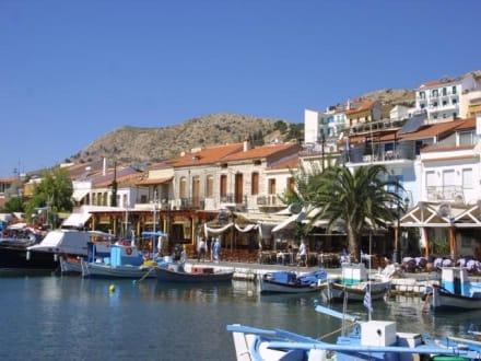 Hafen von Pythagorion - Hafen Pythagorion
