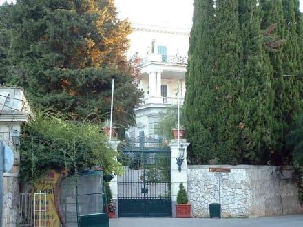 Achillion Korfu - Altstadt Kerkyra/Korfu Stadt