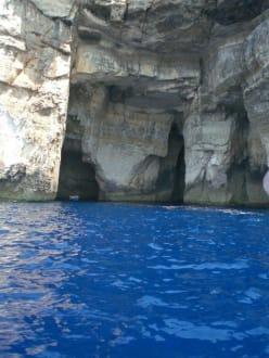 wunderschönes blaues Wasser - Azur Window (existiert nicht mehr)
