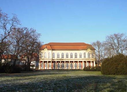 Merseburger Schlossgarten - Schloss Merseburg