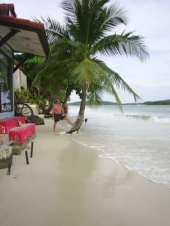 Ebbe und Flut - Strand Chaweng