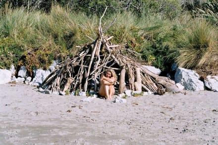 Mrs. Robinson in Neuseeland - Strand Mount Maunganui