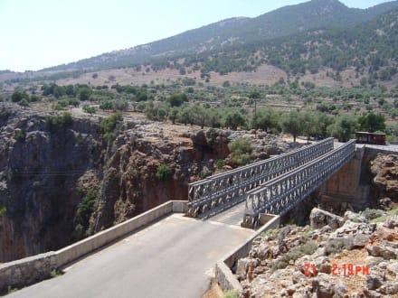 Brücke über die Aradena Schlucht - Aradena Schlucht
