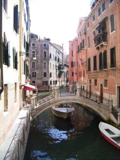 Seitenkanal - Altstadt Venedig