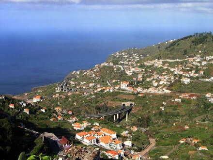 Blick auf Campanario - Europas höchste Klippe Cabo Girao