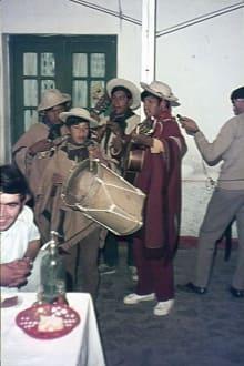 Die Indio-Musiker im Restaurant - Bergdorf Humahuaca