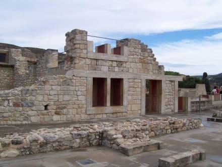 Rekostruktion alter Bauten - Knossos