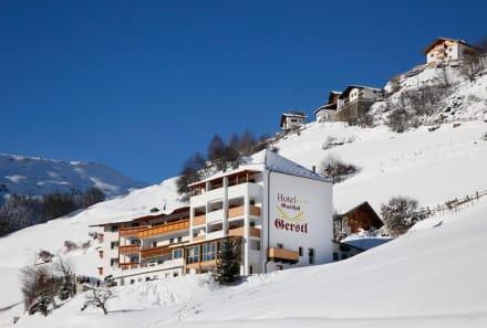 Außenansicht Hotel Gerstl - Alpin & Relax Hotel Das Gerstl