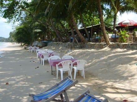 Bang Po Beach im Norden - Naidam Seafood