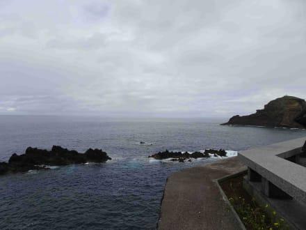 Inselrundfahrt Madeira - Meerwasserschwimmbecken