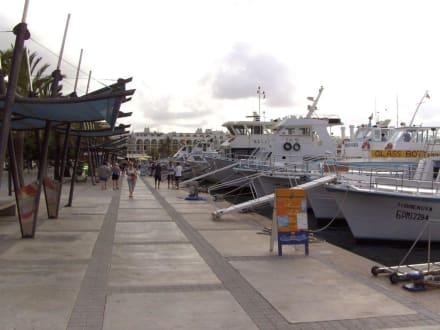 Promenade mit Schiffsanlegestellen - Strandpromenade San Antonio/San Antoni de Portmany