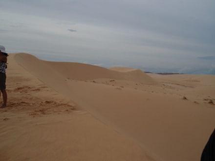 Weissen Sanddünen - Sanddünen