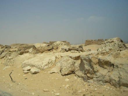 Felsig - Pyramiden von Gizeh