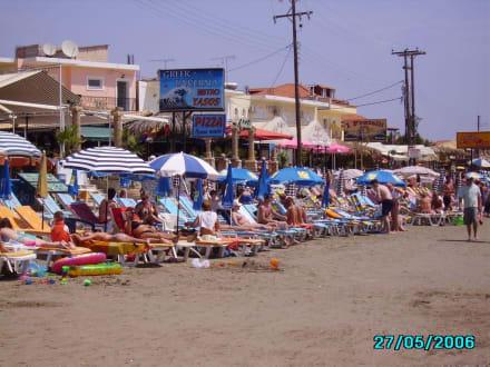Strand von Laganas - Strand Laganas