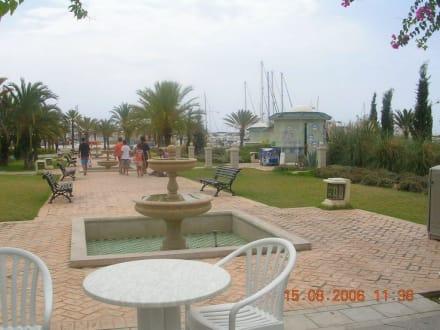 Strandpromenade - Strand Hammamet