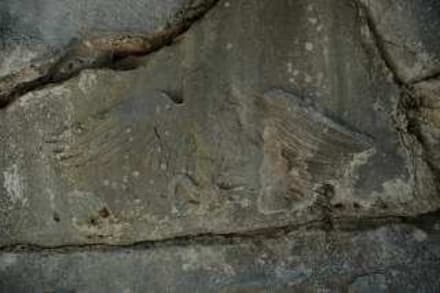 Relief des Wappen von Alketas - Termessos