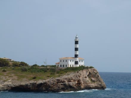 Porto Colom Leuchtturm - Leuchtturm von Porto Colom