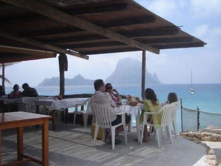 Lokal am Strand - Strand Cala d'Hort