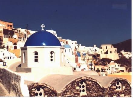 Santorini-Oia Kirche - Altstadt Oia