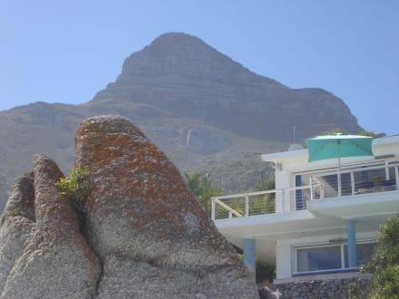 Strandhaus und Lion´s Head - Strände Clifton