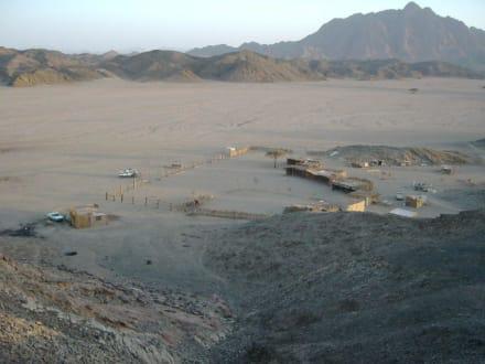 Beduinendorf in der Wüste - Wüstentour Marsa Alam
