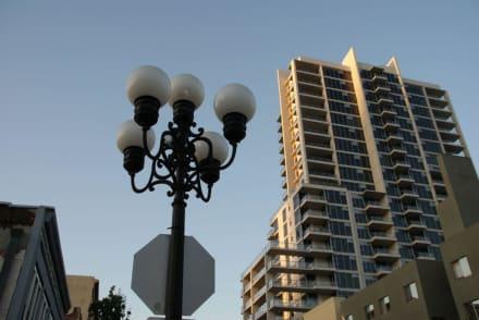 Typischer Eindruck - Gaslamp Quarter