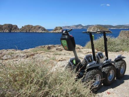 We would like to say hello to you - VERD Segway - Touren Santa Ponsa - Mallorca