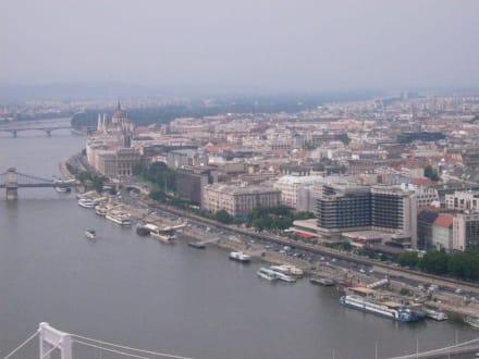 Budapest von oben - Burgberg / Burgpalast
