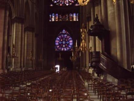 Innenansicht Notre Dame - Kathedrale Notre Dame