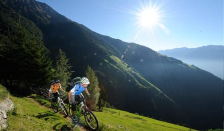 Biken am Vinschgauer Sonnenberg - Bikeschule vinschgauBIKE