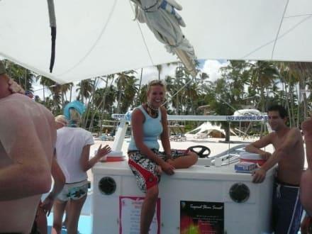 Alex, Reiseleiterin - Katamaran Tour Tropical Storm Punta Cana