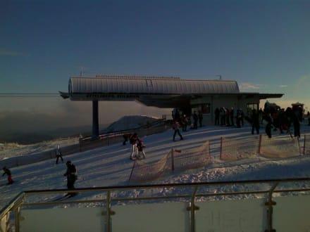 Blick auf die Liftanlage - Siggi's Hütte