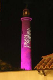 Der Leuchtturm am Abend einer Modeneschaum Juni06 - Leuchtturm
