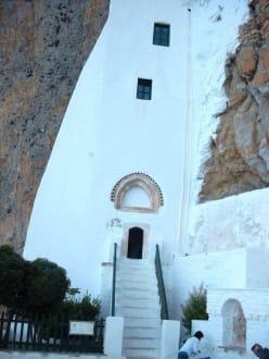 Der Nordeingang des Klosters - Chora von Amorgos