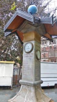 Plaza de España mit der Wetterstation - Plaza d' Espana