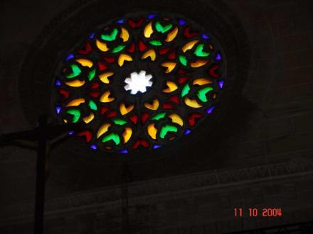 Eremita N. S. de Bonany - Kirchenfenster - Kloster Bonany